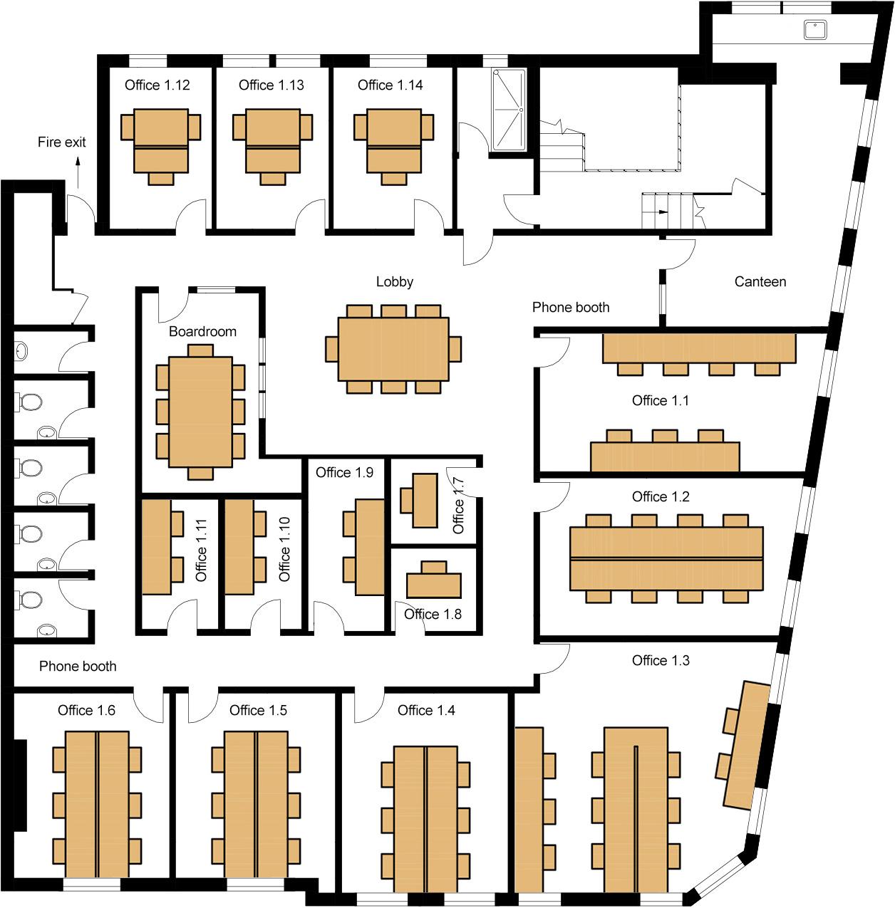 2 Allen Street, Kensington – first floor plans